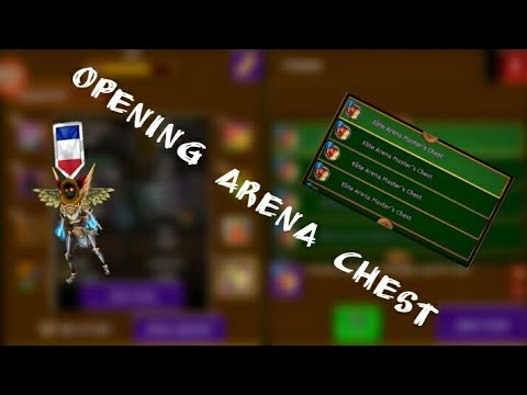 Arcane legends | OPENING 70 ARENA CHEST | Feat mzlovely