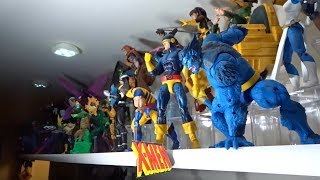 Braulio's Marvel Legends Toy Collection Update!! May, 2019. X-MEN, SPIDER-VRSE, MCU!