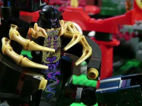 Lego ninjago battle 7 the overlord youtube - Ninjago vs ninjago ...