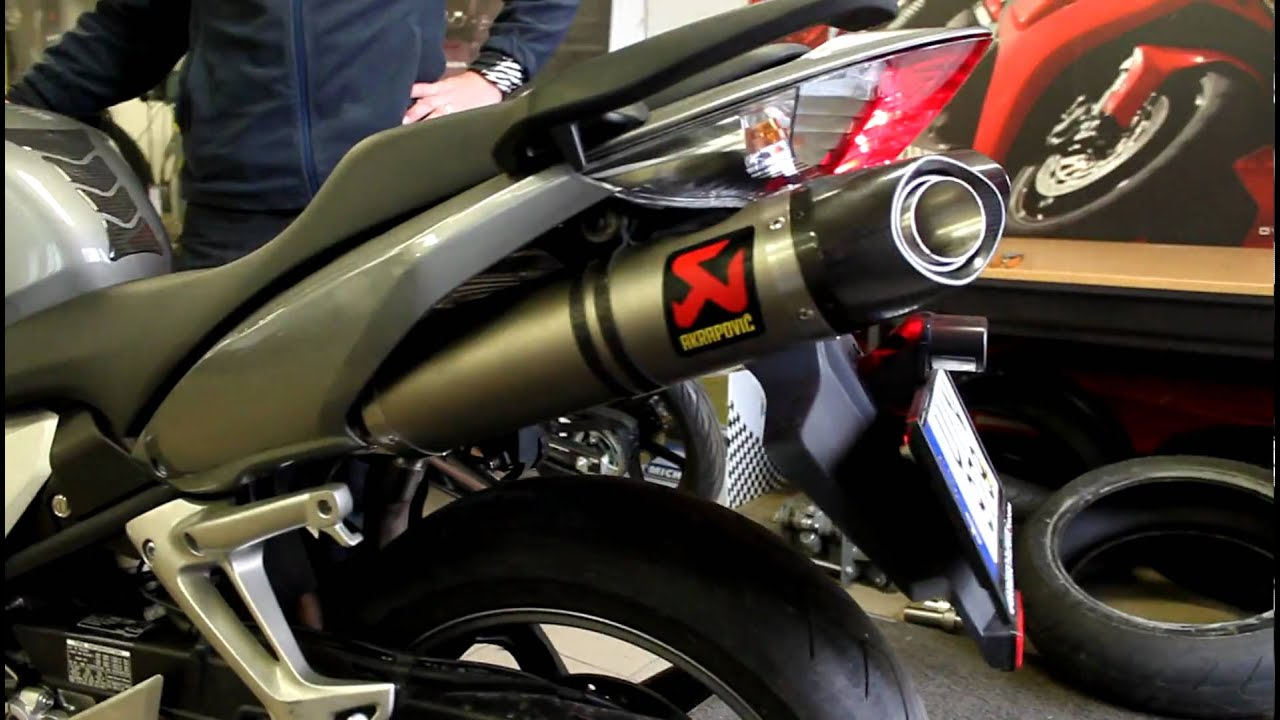 Honda Vfr 800 Vtec Akrapovic 003 Mov Youtube