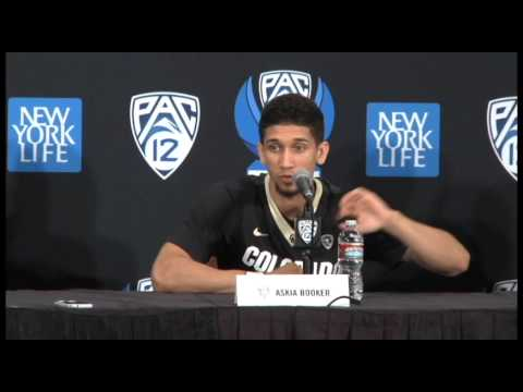 University of Colorado post game Press Conference-Pac-12 Tournament