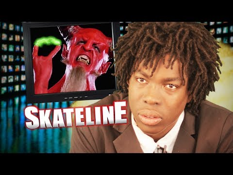 SKATELINE - Tony Hawk, Jimmy Carlin, Black Label Ams, 360 Dolphin Flips and more...