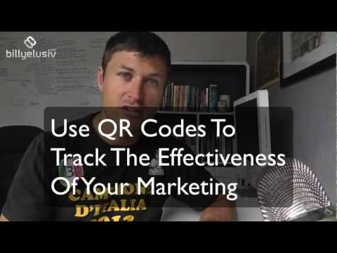 Use QR Codes To Track How Effective Your Offline Marketing Is  | billyelusiv.com