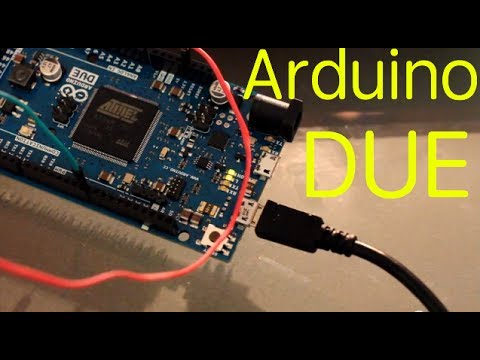Arduino Due unboxing. driver install and PWM blink circuit