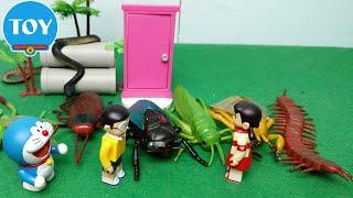 Đồ chơi Doremon - Học tên thế giới côn trùng cùng Nobita và Shizuka