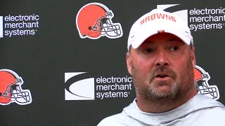 Freddie Kitchens responds to Bob Wylie's comments about not being re-hired by Browns