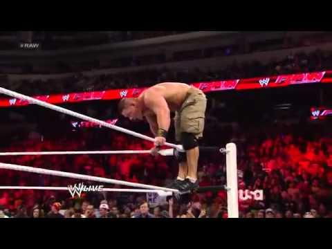 John Cena vs CM Punk Winner Faces The Rock For The WWE Championship At WrestleMania