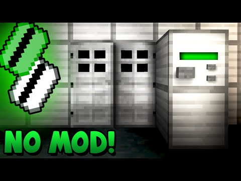 Security Key Card Activated Door! - Minecraft Tutorial