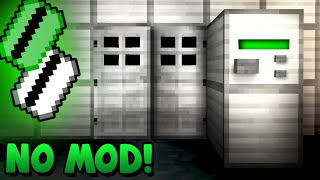 Security Key Card Activated Door! - Minecraft Tutorial