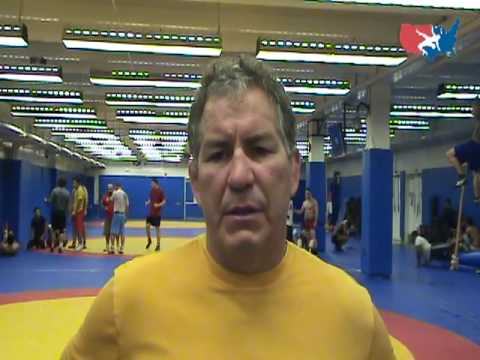 Greco-Roman Training Camp: National Team Coach Steve Fraser Image 1