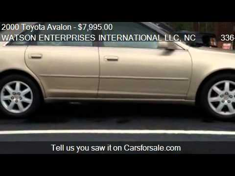 2000 Toyota Avalon XLS - for sale in MOUNT AIRY, NC 27030