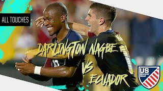 Darlington Nagbe vs Ecuador ● All Touches ● US Soccer Soul | HD