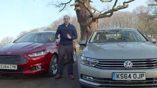 Ford Mondeo vs VW Passat 2015   TELEGRAPH CARS