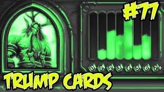 Hearthstone: Trump Cards 77 - Druid full arena w/ strange cards
