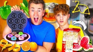 BROTHERS TRY KITCHEN GADGETS YOU NEVER KNEW EXISTED