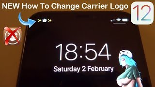 NEW How To Change Carrier Logo On iOS 12 - 12.1.2 NO Jailbreak NO Computer iPhone & iPad
