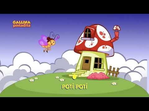 Mariposita - video de canción infantil para bebe y niños - Gallina Pintadita 2 - OFICIAL