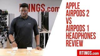 Apple AirPods 2 vs AirPods 1 Headphones Review - RTINGS.com