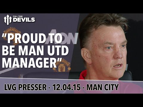 """Proud To Be Man Utd Manager"" 