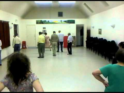 HSD - Ashley Lindy Hop  Practise Night - Quick Step turn with Pat