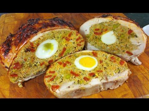 Rellenong Manok. Filipino Stuffed Chicken. #SRP