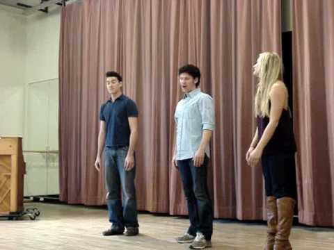 Skye Scott, Tess Soltau and Nick Cosgrove - Stephen Schwartz Medley