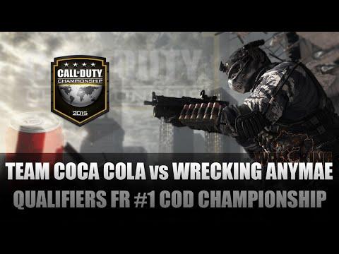 [Qualifications CoD Champs] #1 Team Coca Cola vs Wrecking