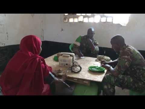 AMISOM medical clinic in Kisma, Somalia - Unravel Travel TV