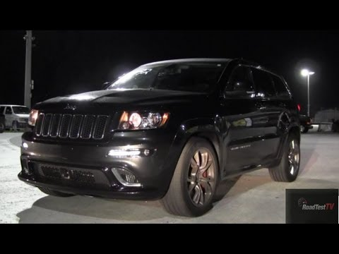 2013 SRT 8 Jeep Cherokee 6.4 Liter Hemi vs Dodge Challenger SRT8 - Drag Test Video - Road Test TV