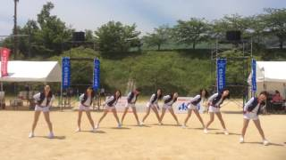 Oh! - SNSD( 소녀시대) Dance covered by KMUSE @ 天空RUN(APU marathon)2016