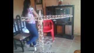 grúa torre experimento de física