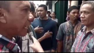 IWAN BOPENG BERANI MELAWAN TNI DAN MENGHINA HUKUM ISLAM