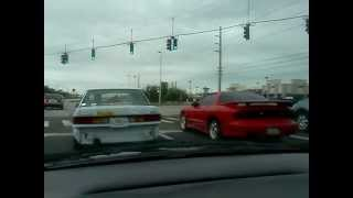 Ford tempo takes out firebird !