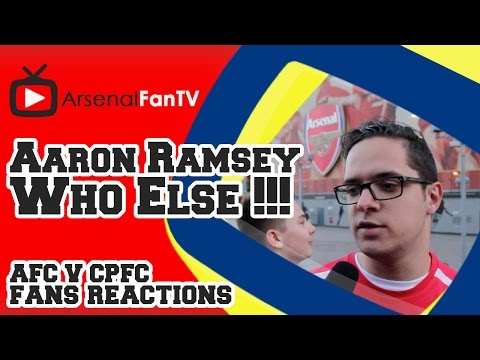 Aaron Ramsey, Who Else !!! - Arsenal 2 Crystal Palace 1