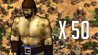 Don't lose any! You can't train anymore of them [Age of Empires 2]