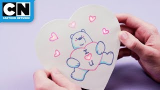 We Bare Bears | DIY Light-Up Candy Box | Cartoon Network | LET'S CREATE