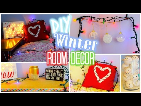 DIY: Winter / Holiday Room Decor (Collab with Hayley Williams)