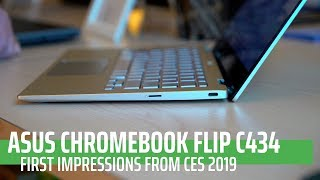 CES 2019: ASUS Chromebook Flip C434 First Look