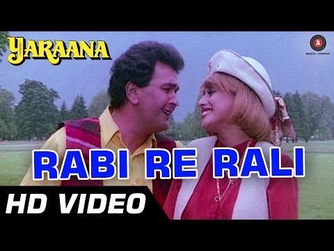 Rabi Re Rali | Yaraana [1995] | Rishi Kapoor, Madhuri Dixit | Romantic Songs video