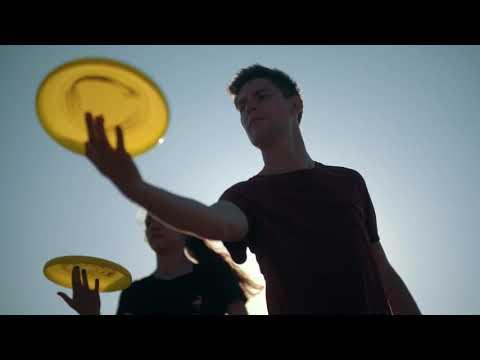 World Urban Games Budapest | Maxine & Edoardo (IT) Flying disc freestyle - Interjú/Hero's Talk