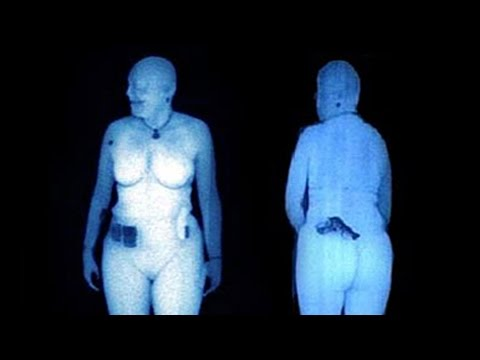 Leaked TSA Airport Body Scan Images!