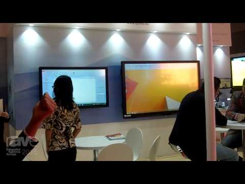ISE 2015: Qomo Gives an Overview of Their Interactive Screens, Document Viewers and White Boards