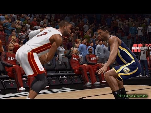 NBA Live 14 East Finals - Indiana Pacers vs Miami Heat - Game 6 - Halftime Highlights - HD