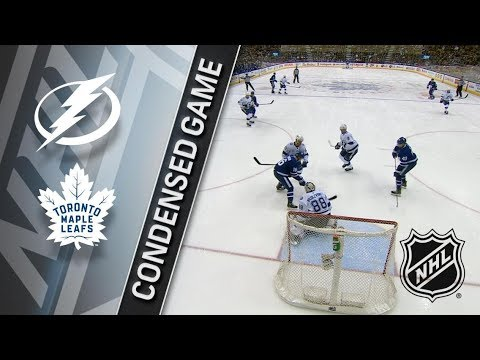 Tampa Bay Lightning vs Toronto Maple Leafs – Feb. 12, 2018 | Game Highlights | NHL 2017/18. Обзор