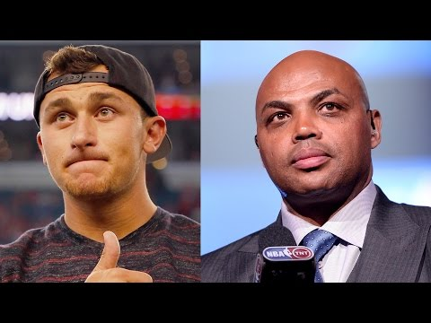 Charles Barkley Tries & Fails To Get Through To Johnny Manziel