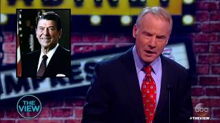 Political Impersonations With Jay Pharoah: Jim Meskimen, Rosemary Watson | The View