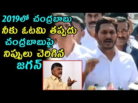 YS Jagan Sensational Comments ON Chandrababu After Meet Governer | Fata Fut News