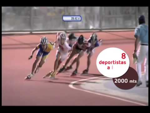 Juegos Suramericanos 2014. Disciplina: patinaje de velocidad en línea