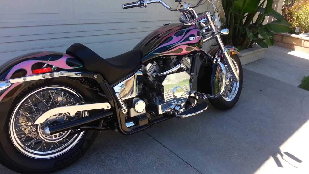 ridley automatic motorcycle for sale 2005 auto glide 744le limited edition youtube. Black Bedroom Furniture Sets. Home Design Ideas