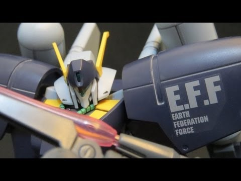 HGUC Byarlant Custom (Part 1: Intro) Gundam Unicorn EFF Gunpla model review ガンプラ